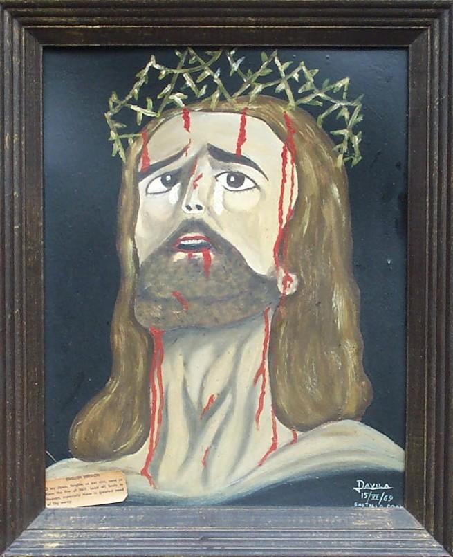 bloddy jesus